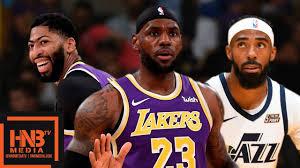 Los Angeles Lakers vs Utah Jazz - Full Game Highlights | October 25,  2019-20 NBA Season - YouTube