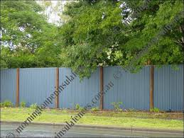 Sheet Metal Fence Corrugated Iron Designs Wooden And Design Decorating