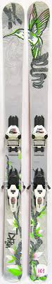 2012 Volkl Aura Womens Skis With Marker Griffon Bindings Used Demo Skis 163cm