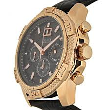 blue and rose gold tone classic chronograph sport watch guess 1000 images about guess guess watches jewelry
