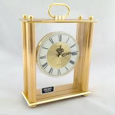 cool desk clocks quartz desk clock from seiko with elegant gold framed desk clocks australia