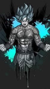 Black Goku iPhone Wallpaper