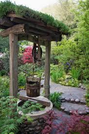 Modern Water Well Design The Well Has A Green Roof Made Up Of Sedums Succulent