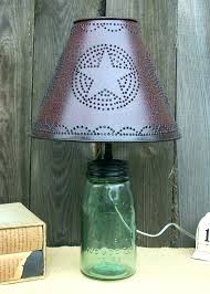 punched tin lighting punched tin lamps punched tin lamp shades whole primitive table lamps design fresh