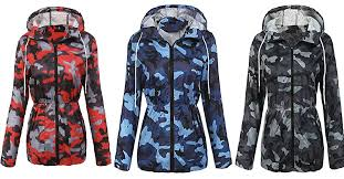 elesol women s lightweight raincoat hooded waterproof active outdoor rain jacket is for 45 98 at com
