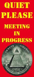 Quiet Please Meeting In Progress Sign Meeting Door Hangers Zazzle