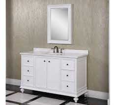 60 Inch Single Sink Vanity Cabinet Classic Wk Series 60 Inch Single Sink Bathroom Vanity White Finish