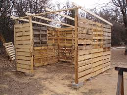 Pallet Home Diy Pallet Shed Project Home Design Garden Architecture Blog