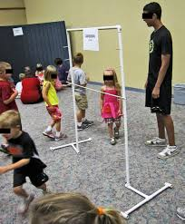 Wooden Limbo Game Homemade Limbo Game Library programs for Children and Families 45