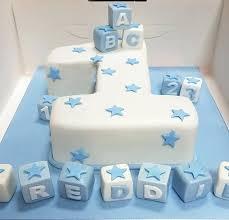 Creative Birthday Cake Ideas A Pink Cake Box Baby Boy First Birthday