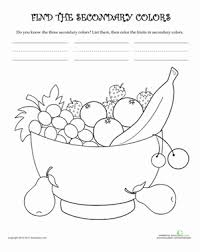 color worksheets for kids. Fine For Intended Color Worksheets For Kids A