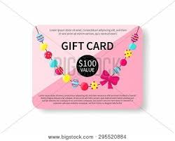 Gift Card Colorful Vector Photo Free Trial Bigstock