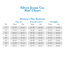 Plus Size Jeans Chart Silver Jeans Co Avery High Rise Curvy Fit Skinny Jeans In