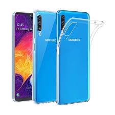 <b>Чехол BoraSCO силиконовый</b> прозрачный, для Galaxy A70 ...