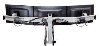 innovative bild triple monitor mount bild 3 multi monitor mount adjule monitor stand ergonomichome com usa tx ca dc