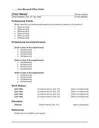 Nice Microsoft Office Resume Templates 12 Microsoft Resume