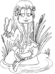 Small Picture Real Mermaids Coloring Pages Coloring Coloring Pages