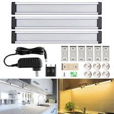 Under the counter lighting Kitchen Cabinet 3pcs Led Under Cabinet Lighting Dimmable Kitchen Light Bar Under Counter Lamp Omegadesigninfo Led Under Cabinet Light Dimmable Ebay