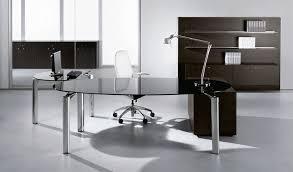 Cute Modern Glass Desk