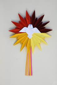 Image result for origami pomba espírito santo