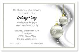 Company Christmas Party Invite Template Corporate Holiday Party Invitation Ideas Company Christmas Party