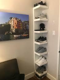 50 sneaker display upgrade lack wall shelf unit