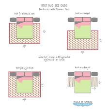rug size for queen bed rugs measuring rugs area rug size guide queen bed by design rug size