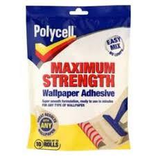 maximum strength wallpaper paste and