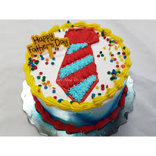 Father S Day Cake Design Happy Fathers Day Tie Cake