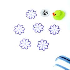 bathtub decals non slip non skid bathtub stickers adhesive daisy bath treads bathtub non slip stickers