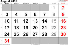 Calendar August 2015 Uk Bank Holidays Excel Pdf Word Templates