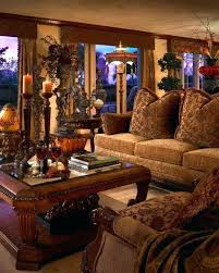 Tuscan Inspired Living Room Custom Decorating Design