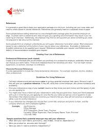 ask resume reference sample reference page template