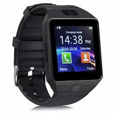 Bluetooth Smart Watch DZ09 Smartwatch GSM SIM Card With Camera For Android IOS Black - Walmart.com