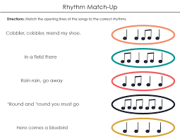 Grade 1 Rhythm: Quarter Eighth Note lessons with sheet music ...