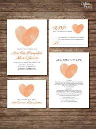 546 best wedding invitations, save the dates & programs images on Wedding Invitations Cairns Qld peach fingerprint wedding invitation rsvp thank your card save the date diy printable customized no printed materials will be shipped Cairns Australian Tourism