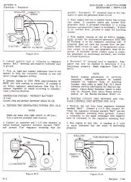 panhead and flathead site 1964 factory service manual procedure for checking and adjusting voltage regulators