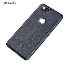 vaku google pixel 2 kowloon double stitch edition silicone leather texture finish ultra