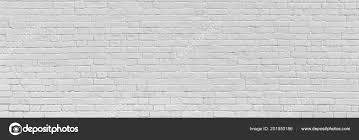 white old brick wall urban background panorama stock photo