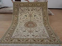 6 x 9 hand knotted brand new wool and silk sino persian tabriz oriental area rug 12980717 goodluck rugs