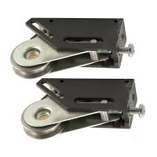 pair of schlegel multi fit stainless steel sliding door prime line patio door roller assembly