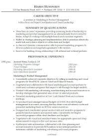 Sample Professional Summary On Resume Samples For Marketing Helpful