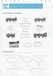 Weather | Worksheet | Rockalingua | Spanish Class | Pinterest ...