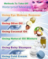 methods to take off mascara