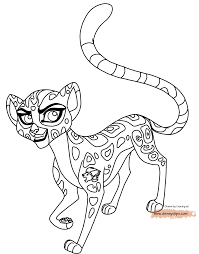 Small Picture The Lion Guard Coloring Pages GetColoringPagescom