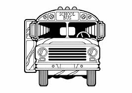 Small Picture Pages For Bus School Front Side Page Toddlers Transportation