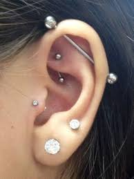 Tragus Rook Industrial And Double Lobe Piercings Exactly What I