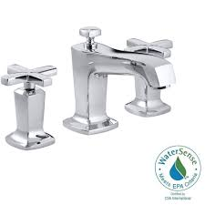 Cross Handle Bathroom Faucet Kohler Margaux 8 In Widespread 2 Handle Low Arc Water Saving