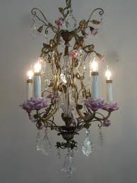 top 38 matchless astounding french crystal chandelier empire gold iron with flower and light stunning floor
