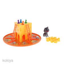 Bộ đồ chơi chuột Mickey và mèo để bàn dễ thương cho bé